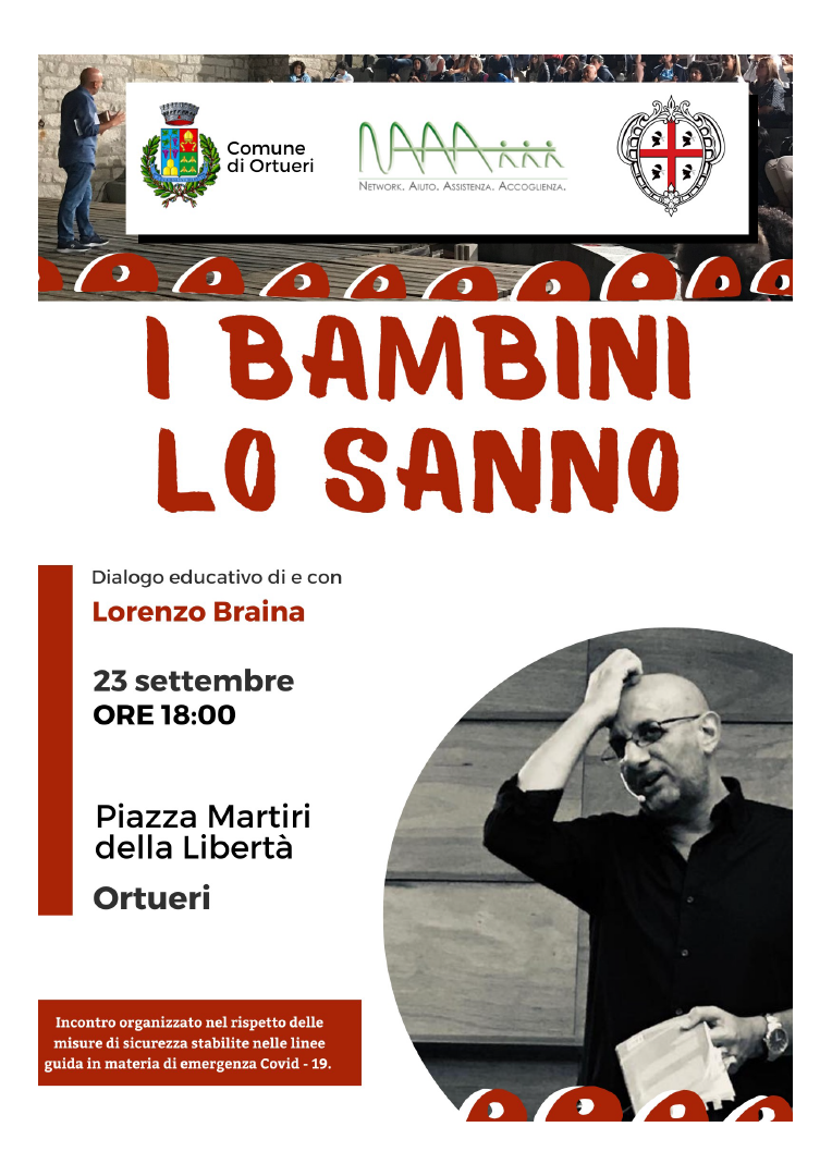 Dialogo educativo di e con Lorenzo Braina