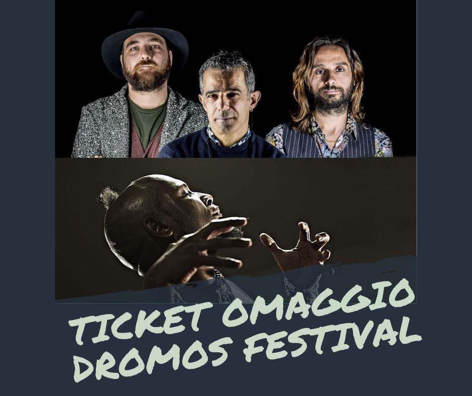 Biglietti omaggio per Dromos Festival: modulistica per la richiesta